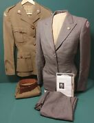 Named Ww2 Canadian Red Cross Corps Womenand039s Uniform Grouping