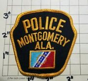 Montgomery Al Police Department Patch