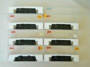 7 Atlas By Kato N Scale Emd Sd9 Diesel Locomotives Undecorated New In Ob's
