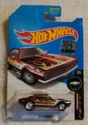 Hot Wheels 2017 Super Treasure Hunt And03967 Camaro With Factory Sticker In Package.