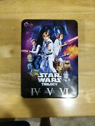 Star Wars Trilogy - Remastered And Original Theatrical Release Dvds - Best Buy Tin