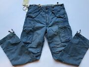 Rrl 1950s Us Military Stonewashed Cotton Ripstop Cargo Pant-31w32l