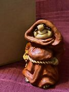 Friar Folk Abby Press...monk Rust Colored Robe Hands Tucked In Belt...org Box