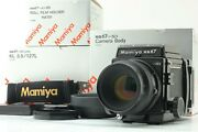 [top Mint In Box] Mamiya Rb67 Pro Sd K/l 127mm F/3.5 L 120 Film Back From Japan