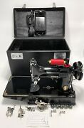 Outstanding Vintage Singer 221 Featherweight Centennial Sewing Machine Serviced