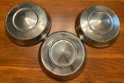 3 1960and039s Vintage 10 Ford Chevy Dodge Amc Pontiac Dog Dish Poverty Style Hubcaps