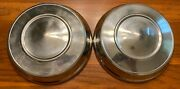 2 1960's Vintage 10 Ford Chevy Dodge Amc Pontiac Dog Dish Poverty Style Hubcaps