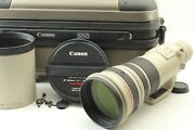 Mint In Trunk W/ Hood Canon Ef 500mm F/4 L Is Usm Lens From Japan 376