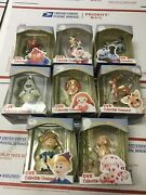 Cvs 1999 Rudolph And The Island Of Misfit Toys Ornaments Lot Of 8 W/ Boxes