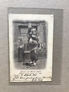 Germany 1900 Boxing Rebellion Free-franking Card +chinese Couple 回娘家 + Scarce