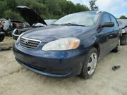 Passenger Right Fender Without Ground Effects Fits 03-08 Corolla 853514