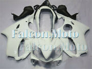 New White Fairing Plastic Fit For 2004-2007 Cbr 600 F4i Injection Body Kit Aaj