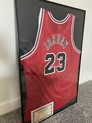 Michael Jordan Autographed Signed Chicago Bulls Framed Jersey With Coa