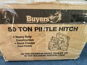 Buyers Ph-55 50 Ton Pintle Hitch - 10 Bolt Pintle Hook - Made In Usa - Ph55