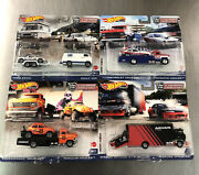 2021 Hot Wheels Team Transport Lot Of 4 Car Culture Selling As Damaged See Pic
