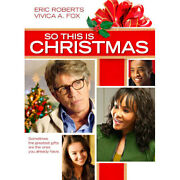 So This Is Christmas Dvd, 2013