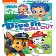 Paw Patrol / Bubble Guppies Collection Dvd, 2018 Double Feature