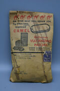 Vintage Camel Holla-tab Vulcanizing Patches, Paper Container. 3 Cent Stamp, Usa