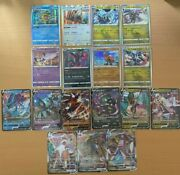 Pokemon Card Game S7r Towering Perfection R/rr/rrr Complete Set Japanese Ver.