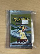 Pokemon 1st Edition Neo Genesis Booster Pack- Typhlosion Sealed And Unweighed
