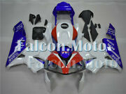 Blue Red White Abs Injection Mold Fairing Fit For 2003-2004 Cbr 600rr 03 F5 Jay