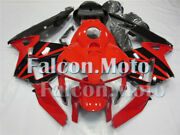 Fairing Set Fit For Red Black 2003-2004 03-04 Cbr 600rr F5 Injection Adc