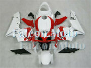 Red White Fairing Injection Fit For 2003-2004 03-04 Cbr 600 Rr F5 Abs Mold Aci
