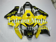 Yellow Black Injection Plastic Fairing Fit For 03-04 Cbr 600rr 2003 2004 F5 Aab
