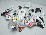 Red White Black Abs Injection Mold Fairing Fit For 2003 2004 Cbr 600rr 03 F5 Uac