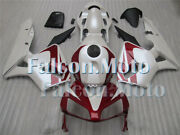 Red White Fairing Bodywork Injection Fit For 2003 2004 Cbr 600rr F5 03-04 Aca