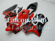 New Red Black Abs Injection Mold Fairing Fit For 2003-2004 Cbr 600rr 03-04 F5 Au
