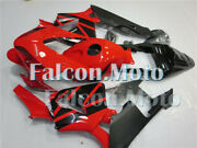 Fairing New Red Black Injection Plastic Fit For 2003-2004 03-04 Cbr 600rr F5 Aco