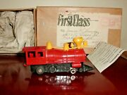 Vintage Dx Red Diamond Red Train Engine 325 Strombecker Repaired In 1960and039s Rare