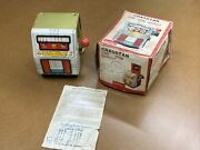 Cragstan One Arm Bandit Slot Machine Antique Toy Battery Operated Made In Japan