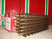 Lgb 1000 10000 Brass 1 Foot Straight Track Case 12 Pieces New In Box