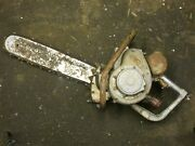Vintage Lombard D40a Gladiator Chainsaw With Bar And Chain Parts Or Repair