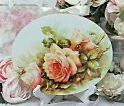 Shabby Chic Vintage French Country Cottage Style Wall Decor Sign Vintage Roses