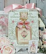 Shabby Chic Vintage French Country Cottage Style Wall Decor Sign Parfumerie