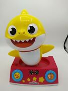 Pinkfong Baby Shark Dancing Dj By Wowwee Toddler Music Interactive Tested /works