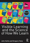 Visible Learning And The Science Of How We Learn By John Hattie New