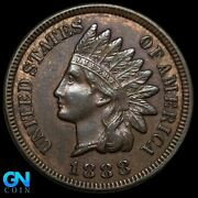 1888 Indian Head Cent Penny -- Make Us An Offer K8024