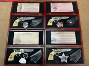 4 Knife Collection Doc Holliday Billy The Kid Jesse James And Wyatt Earp