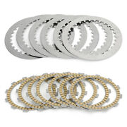 Clutch Plate Kit Friction And Steel Plates For Honda Cb500t 1974 1975 1976 1977 Sg