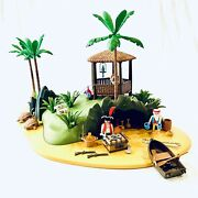 Playmobil 3799 Pirate Turtle Cove Desert Island 100 Complete With Substitutions