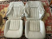 1997-1998 Volvo S90 V90 Oem Beige Tan Leather Seat Covers Landr Will Fit 960 940