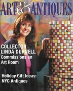 Art And Antiques Magazine November 1999 Linda Durnell Nyc Antiques