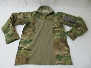 New 1/4 Zip Army Ocp Multicam Combat Shirt Small Flame Resistant Hot Weather Top