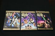 Star Wars Trilogy Original And Revised Used Dvds Mark Hamill Carrie Fisher