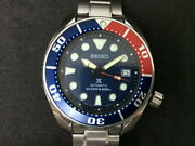 Seiko Diver Scuba Used Watch Self-winding Chronograph Blue Dial Waterproof Menand039s
