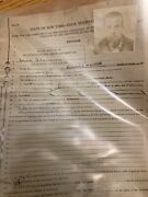 Antique Insane Asylum Record Hydrotherapy 70 Pages